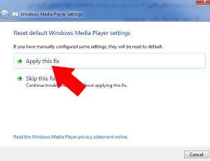 ویندوز مدیا پلیر کار نمی کند