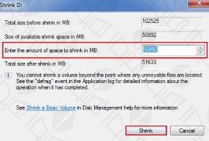 افزایش فضای درایو ویندوز