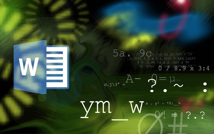 نوشتن فرمول در ورد و تایپ فرمول ریاضی در نرم افزار تایپ فرمول