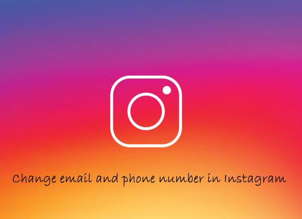 تغییر شماره تلفن در اینستاگرام