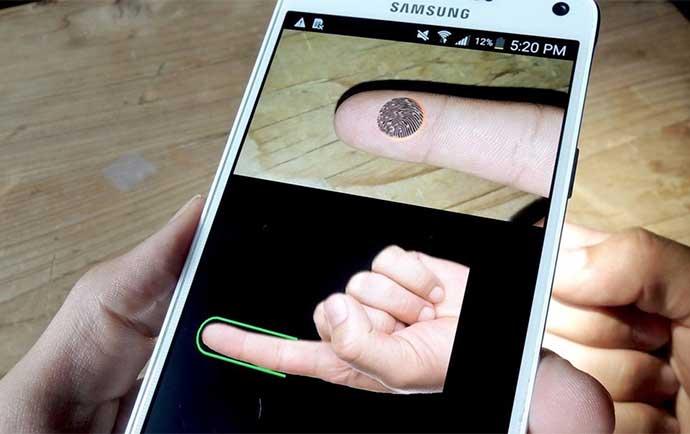 آموزش حل مشکل عدم شناسایی اثر انگشت در گوشی های اندروید