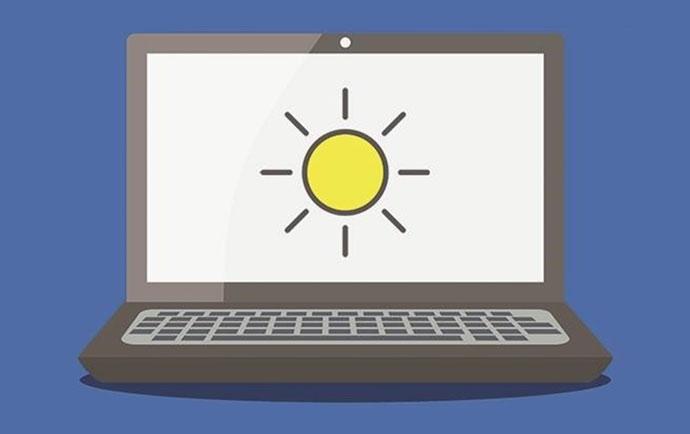 آموزش تنظیم نور صفحه لپ تاپ