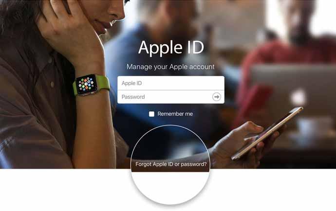 در صورت فراموش کردن رمز اپل آیدی چه کنیم ؟