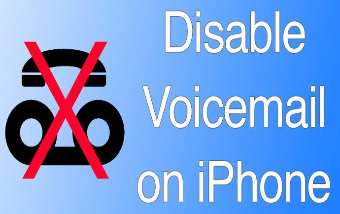 غیر فعال کردن voicemail در آیفون