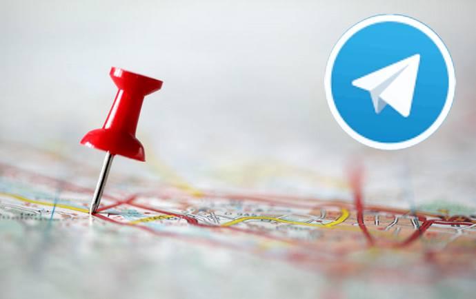 لوکیشن در تلگرام