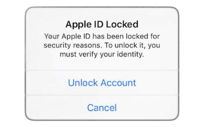 لاک شدن اپل آیدی و روش های آنلاک کردن اپل آیدی