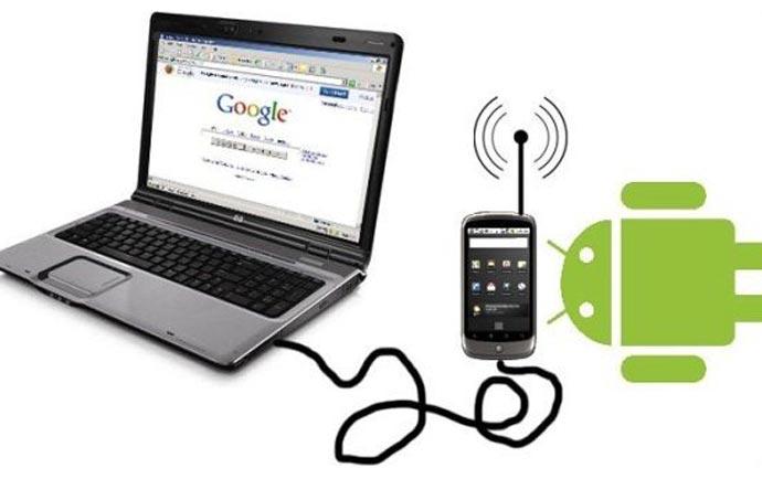 راهنمای اتصال اینترنت موبایل به کامپیوتر