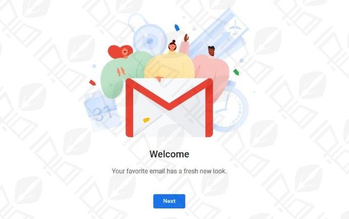 ظاهر جدید جیمیل و تغییر رابط کاربری