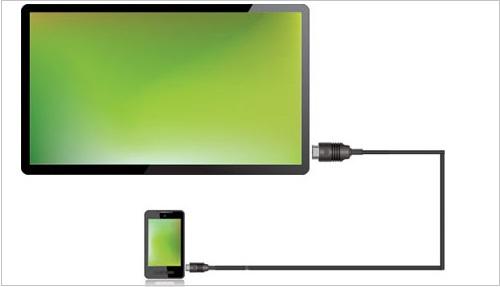 راهنمای اتصال گوشی موبایل به تلویزیون