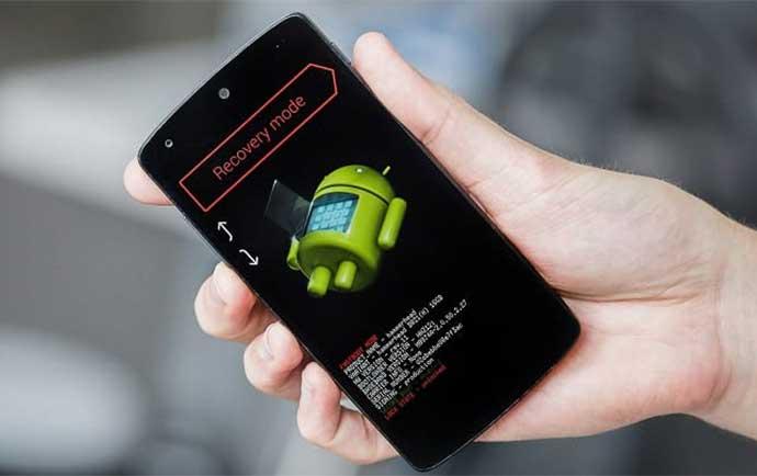 حالت ریکاوری یا Recovery Mode  در گوشی های اندروید