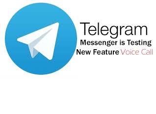 اضافه شدن تماس صوتی به تلگرام