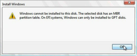 دلایل بروز مشکل windows cannot be installed on drive