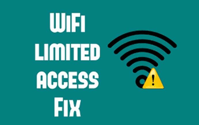 راهنمای حل مشکل اتصال به وای فای در ویندوز 8 و 7 ( Limited Access )