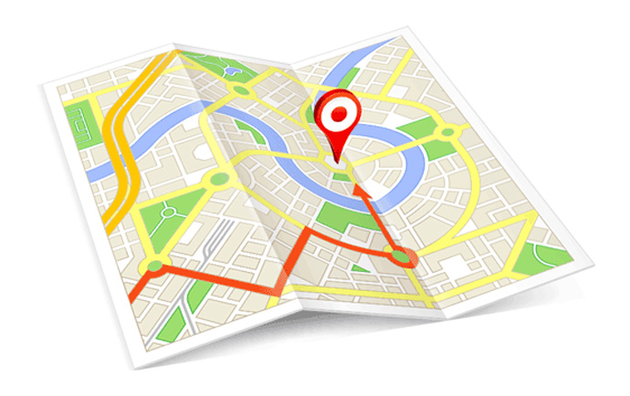 راهنمای مسیریابی در گوگل مپ