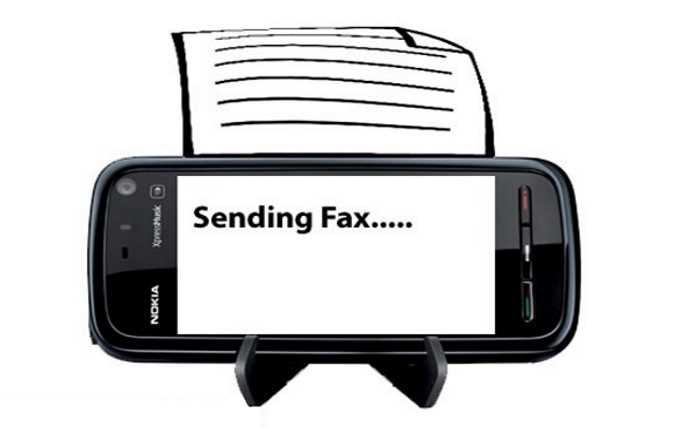 ارسال و دریافت فکس با موبایل ( فکس همراه )