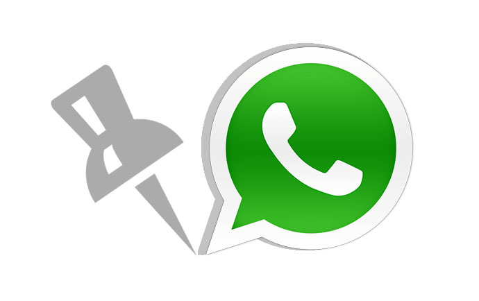 پین کردن مکالمات و پیام ها در واتساپ