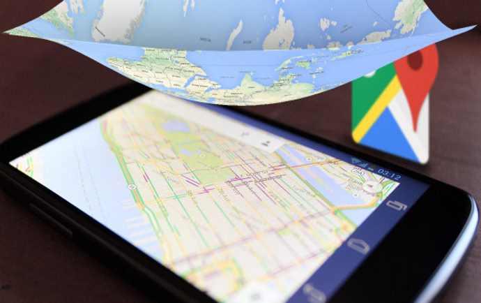 گوگل مپ آفلاین