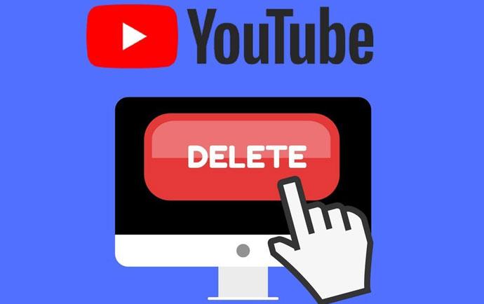 آموزش حذف اکانت یوتیوب