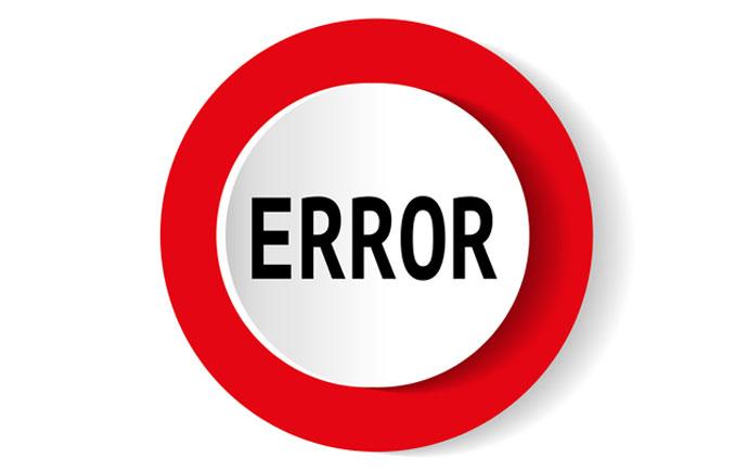 خطاهای رایج هنگام نصب ویندوز