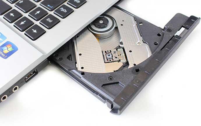 رفع مشکلات سی دی رام لپ تاپ