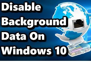 کاهش مصرف اینترنت ویندوز 10 در یک دقیقه