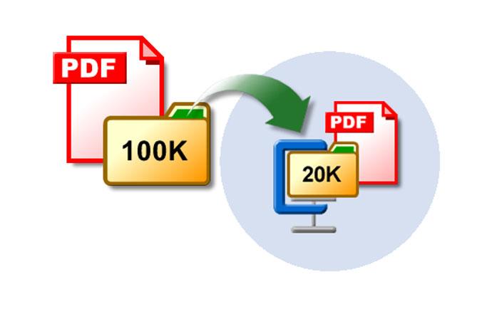 روش های کم کردن حجم pdf
