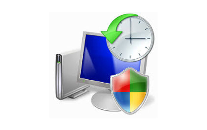 آموزش برگرداندن ویندوز به چند ساعت قبل یا system restore ویندوز