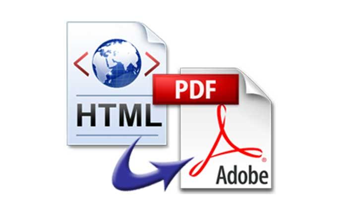 آموزش تبدیل صفحات وب به pdf