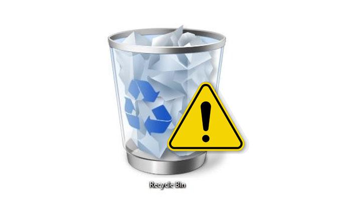 رفع مشکل خالی نشدن سطل زباله ویندوز
