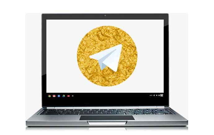 نحوه دانلود و نصب تلگرام طلایی برای کامپیوتر