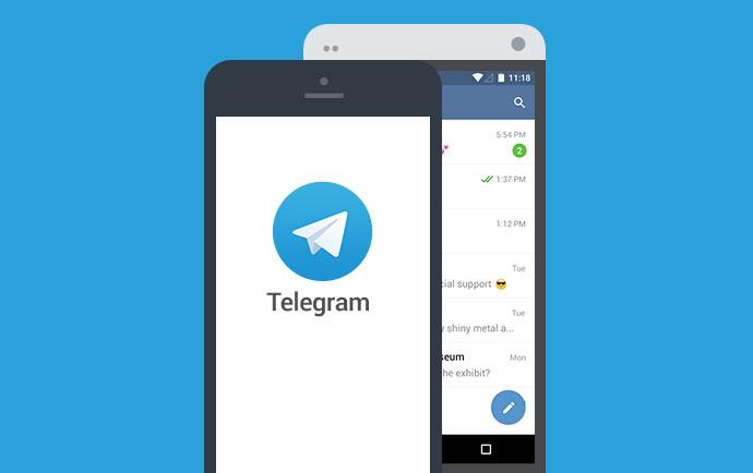 آموزش رفع مشکل ارسال نشدن پیام جوین joined telegram در تلگرام