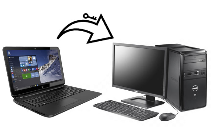 آموزش انتقال لایسنس ویندوز 10 به یک کامپیوتر دیگر