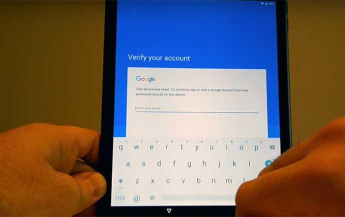آموزش حل مشکل اکانت گوگل بعد از فکتوری ریست