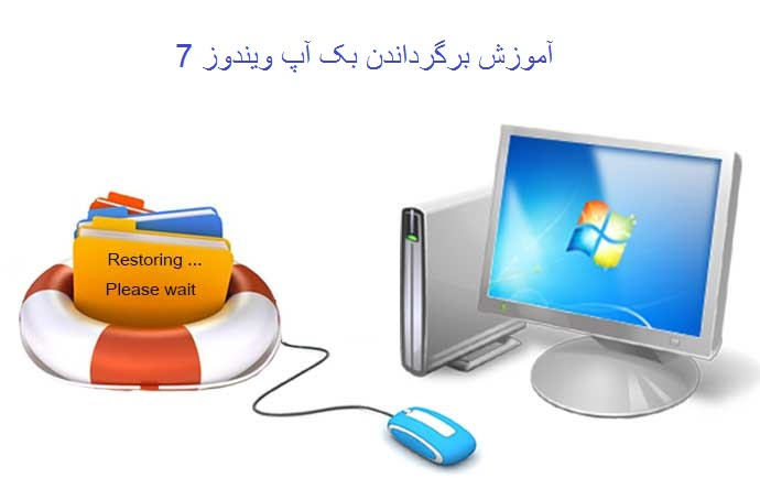 آموزش برگرداندن بک آپ ویندوز 7