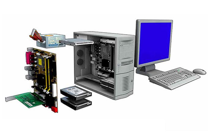 معرفی قطعات سخت افزاری کامپیوتر