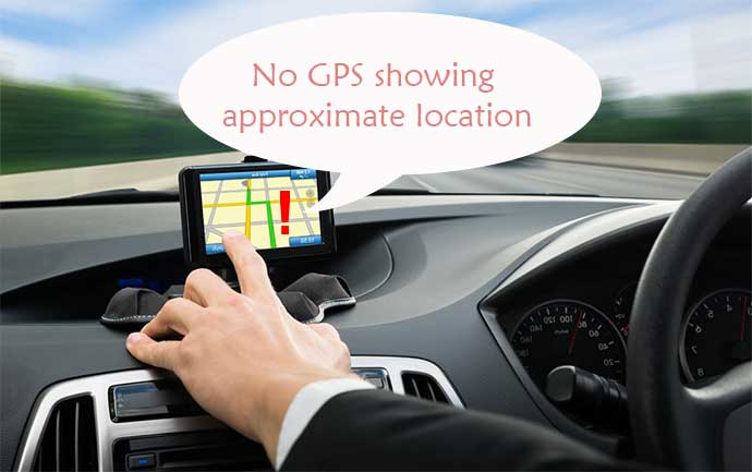 رفع خطای No gps showing approximate location در ویز