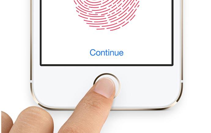 تنظیمات اثر انگشت آیفون (  Touch ID آیفون )