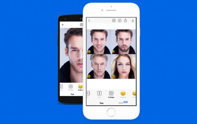 آموزش کار با اپلیکیشن FaceApp