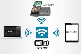 نحوه به اشتراک گذاشتن اینترنت گوشی با هات اسپات