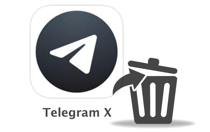 چگونه اکانت تلگرام ایکس را حذف کنیم ؟